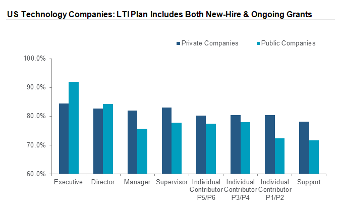 US Technology Companies: LTI Plan Includes Both New-Hire & Ongoing Grants